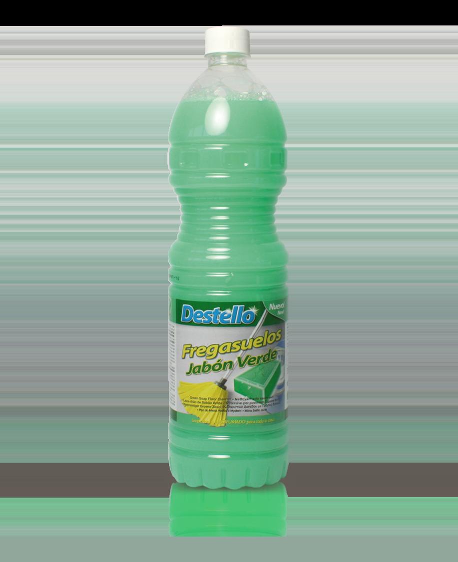 Fregasuelos jabon verde