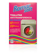 Toallitas antitransferencia de color