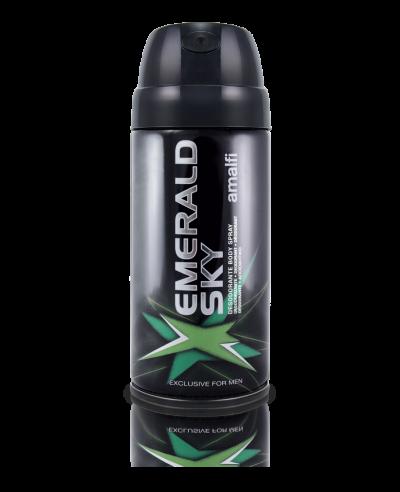 Desodorante body spray emerald sky for men