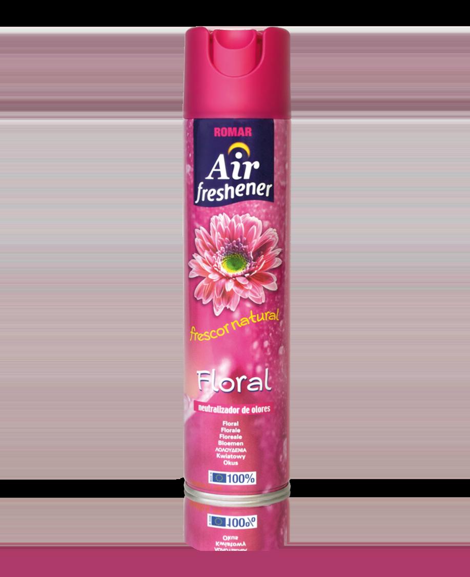Ambientador spray floral