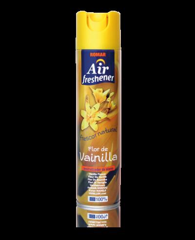 Ambientador spray flor de vainilla