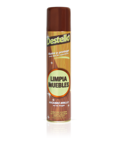 Limpiamuebles spray