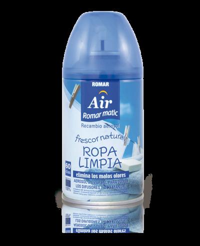 Recambio aerosol automático ropa limpia