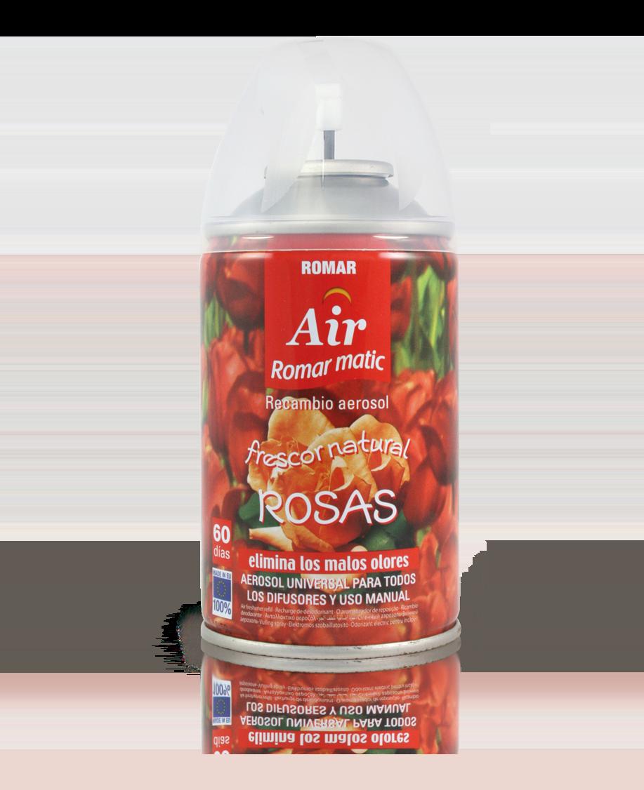 Recambio aerosol automático rosas