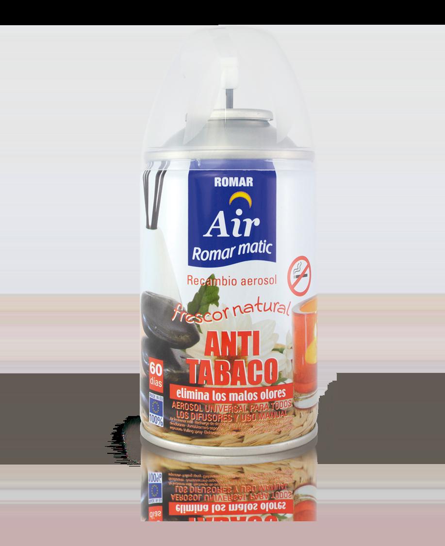Recambio aerosol autom tico antitabaco quimi romar for Spray elimina olores ropa