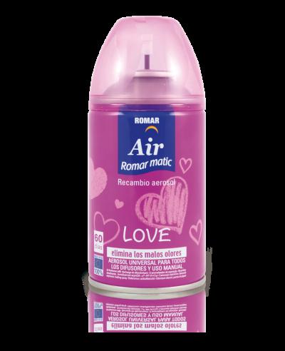 Recambio aerosol automático love