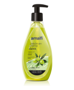 Jabón en crema oliva