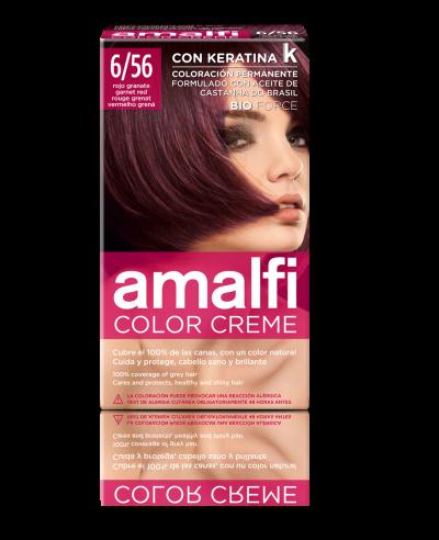 Tinte 6/56 rojo granate color creme