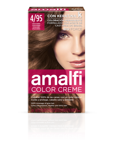 Tinte 4/95 chocolate color creme