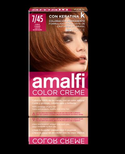 Tinte 7/45 cobre color creme