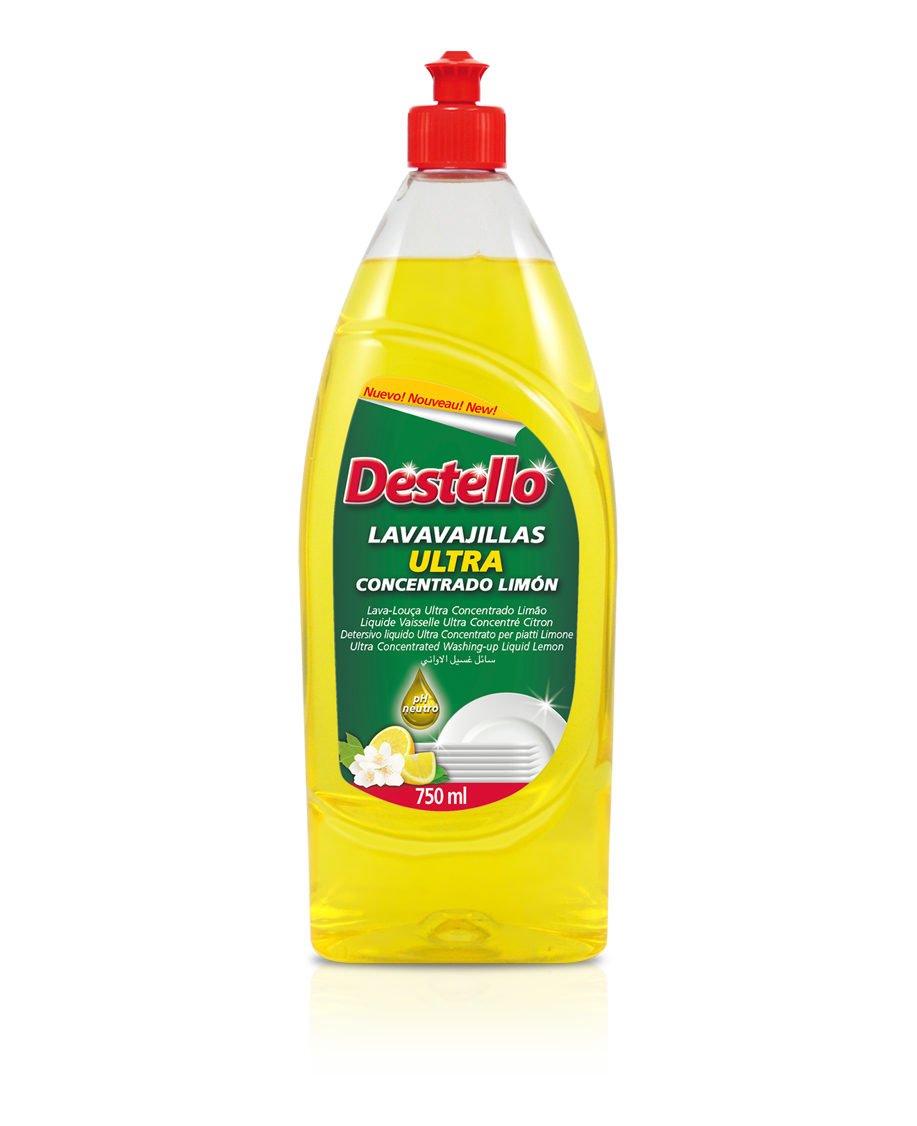 Lavavajillas ultra concentrado limón